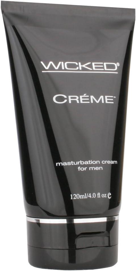 Wicked Sensual Care Wicked Crème Masturbation Cream for Men 4 Ounce