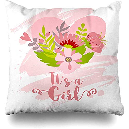 Birth Announcement Pregnancy Pillows - Starosept Throw Pillow Cover Creative Blue