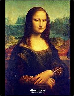 Amazon.com  Mona Lisa  Blank Drawing Pad e7bb14af9ad