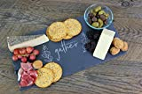 Cheese Board, Slate Board, Rectangle Cheese Board, Custom Cheese Board, Charcuterie Board, Slate Platter, Appetizer, Gather, Thanksgiving