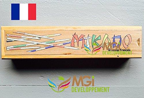 Mikado haut de gamme en bois fabrication artisanale made in jura   Amazon.fr  Jeux et Jouets 173663ec497