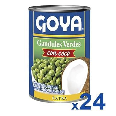 Goya Gandules Verdes con Coco - Paquete de 24 unidades: Amazon.es: Alimentación y bebidas