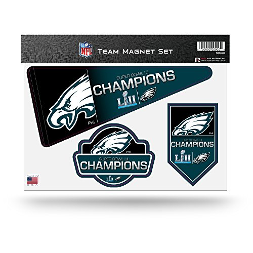 (NFL Philadelphia Eagles Die Cut Team Magnet Set Sheet)
