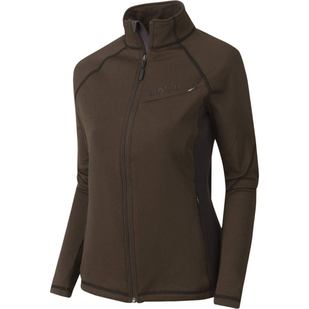 Harkila Vestmar Hybrid Lady fleece jacket Large Brown Large Brown