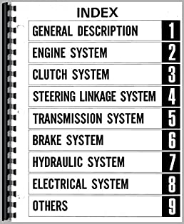 mitsubishi tractor service manuals on