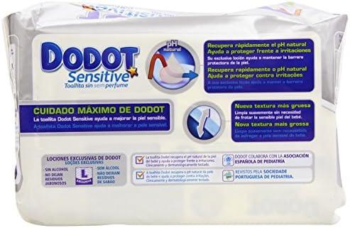 Dodot Sensitive - Toallitas para bebés, 108 unidades: Amazon.es: Hogar