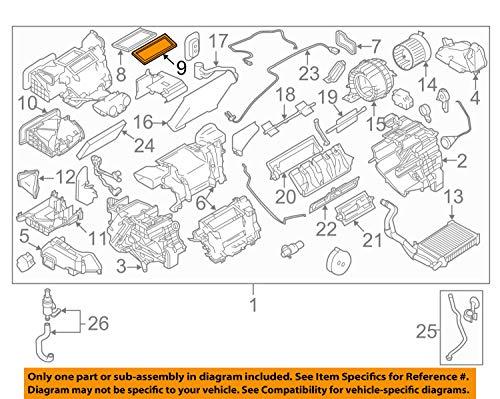 Nissan 28713-1KL0A Defroster Duct Upper Seal