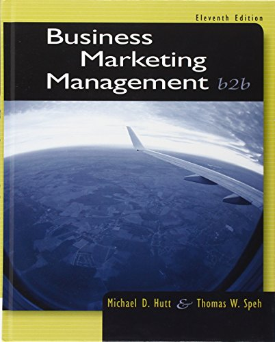 Business Marketing Management: B2B by Cengage Learning