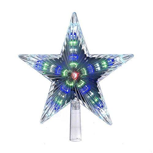 Kurt Adler Color-Changing LED Star Treetop, 8.5-Inch by Kurt Adler (Image #1)