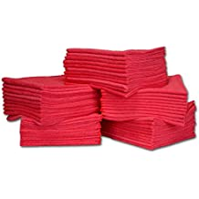 "50 Pack Economy All Purpose Microfiber Towels - Microfiber Wholesale | Large 16"" x 16""