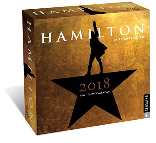 Hamilton 2018 Day-to-Day Calendar cover