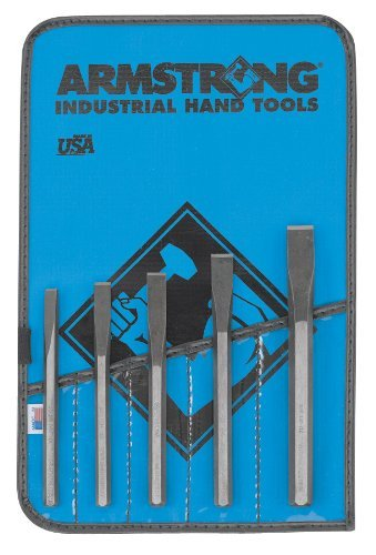 Armstrong 70-564 Cold Chisel Set, 5-Piece by Apex Tool Group by Apex Tool Group