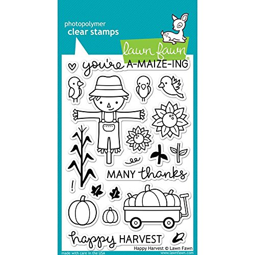 Lawn Fawn Clear Stamps - LF971 Happy Harvest by Lawn Fawn