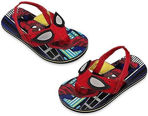 Disney Store Spider-ManWeb feet Flip Flops for Boys