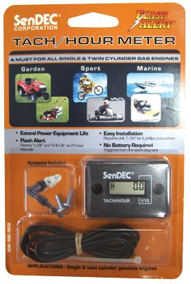 Hour Meter with Tachometer