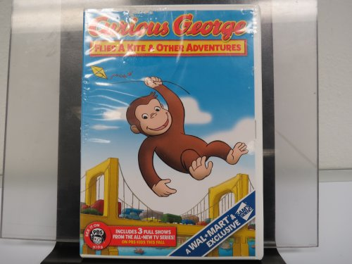 CURIOUS GEORGE FLIES A KITE & OTHER ADVENTURES