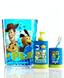 """Disney Toy Story """"Toys At Play"""" Clear Wastebasket"""