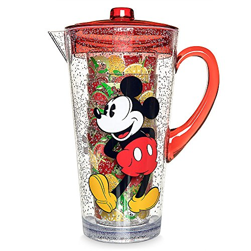 (Disney Mickey and Minnie Mouse Pitcher Set - Summer Fun)