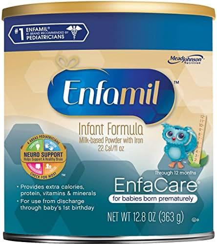 Enfamil EnfaCare Infant Formula Powder 12.80 oz (Packs of 6)