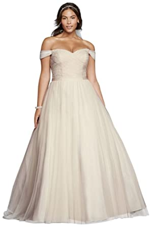 Beaded Lace Sweetheart Plus Size Wedding Dress Style 9WG3785