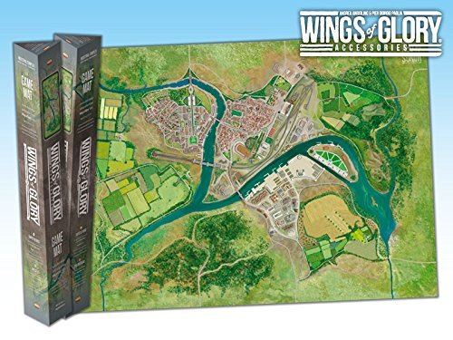 Wings of Glory Game Mat: Industrial Complex by Ares Games