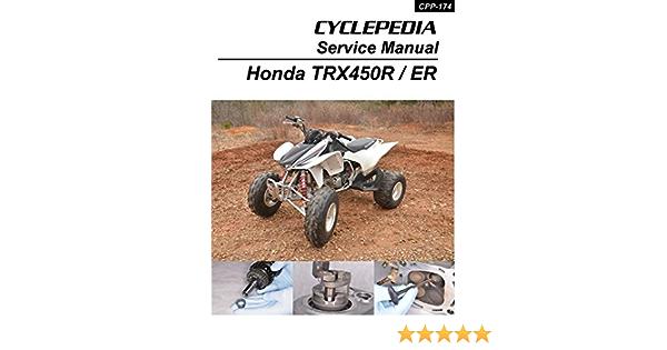 2006-2012 Honda TRX450ER/TRX450R Sportrax Service Manual (English Edition)