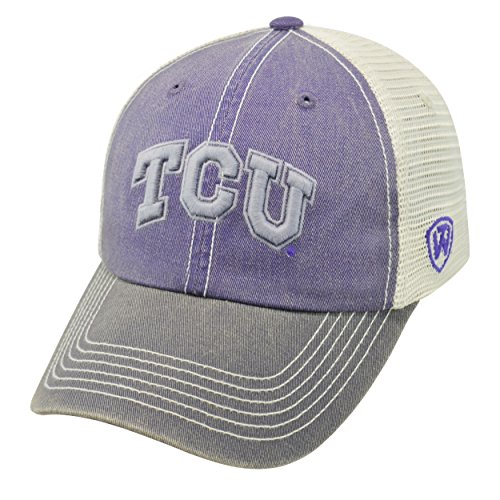 Tcu Horned Frogs Baseball - Top of the World TCU Horned Frogs Official NCAA Adjustable Youth Offroad Hat Cap 174600