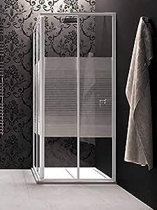 MALIBU - Mampara de ducha con puerta de techo M/4/S 71/76 cm: Amazon.es: Bricolaje y herramientas