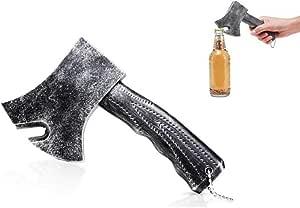 Axe Bottle Opener, Bottle Opener, for Beer Cap Coke Bottle Wine Soda Open and Kitchen Cafe Bars, Ideal Gift for Men and Beer Lovers