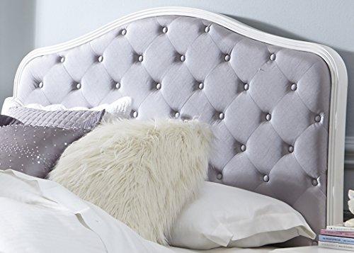 Liberty Furniture White Headboard - Liberty Furniture 352-BR11HU Arielle Twin Upholstered Panel Headboard, 42