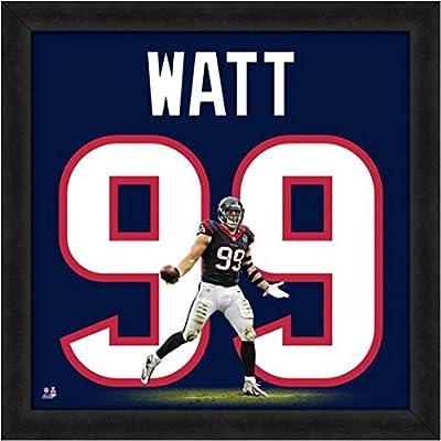 Amazon.com  Houston Texans J.J. Watt  99 Players Jersey Uniframe ... f5a4f632a