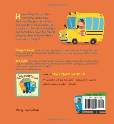 The Little School Bus (Little Vehicles) by Henry Holt and Co. (BYR) (Image #1)