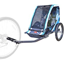 Allen Sports 1-Child Steel Bicycle Trailer - Blue