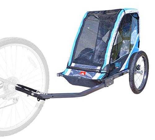 Allen Sports 1-Child Steel Bicycle Trailer - Blue by Allen Sports