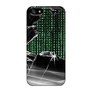 For Iphone Cases, High Quality Matrix Code For Iphone 5/5s Covers Cases