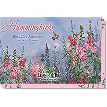 Amazon hummingbirds blank card assortment by leanin tree hummingbirds blank card assortment by leanin tree ast90633 20 cards with m4hsunfo