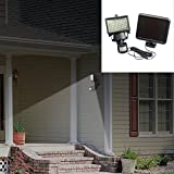 Solar Motion Sensor Lights, 100 LED Wireless Waterproof Solar Powered Security Lights with Motion Sensor for Garden, Patio, Pathway, Wall, Garage, Yard and More Outdoors Areas