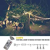 Outdoor Dimmer, Wireless RF Smart Plug-in Outdoor