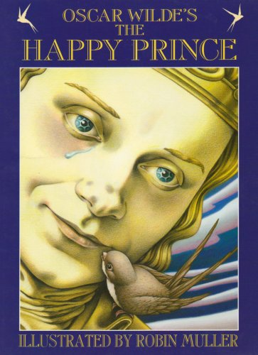 Book cover for The Happy Prince
