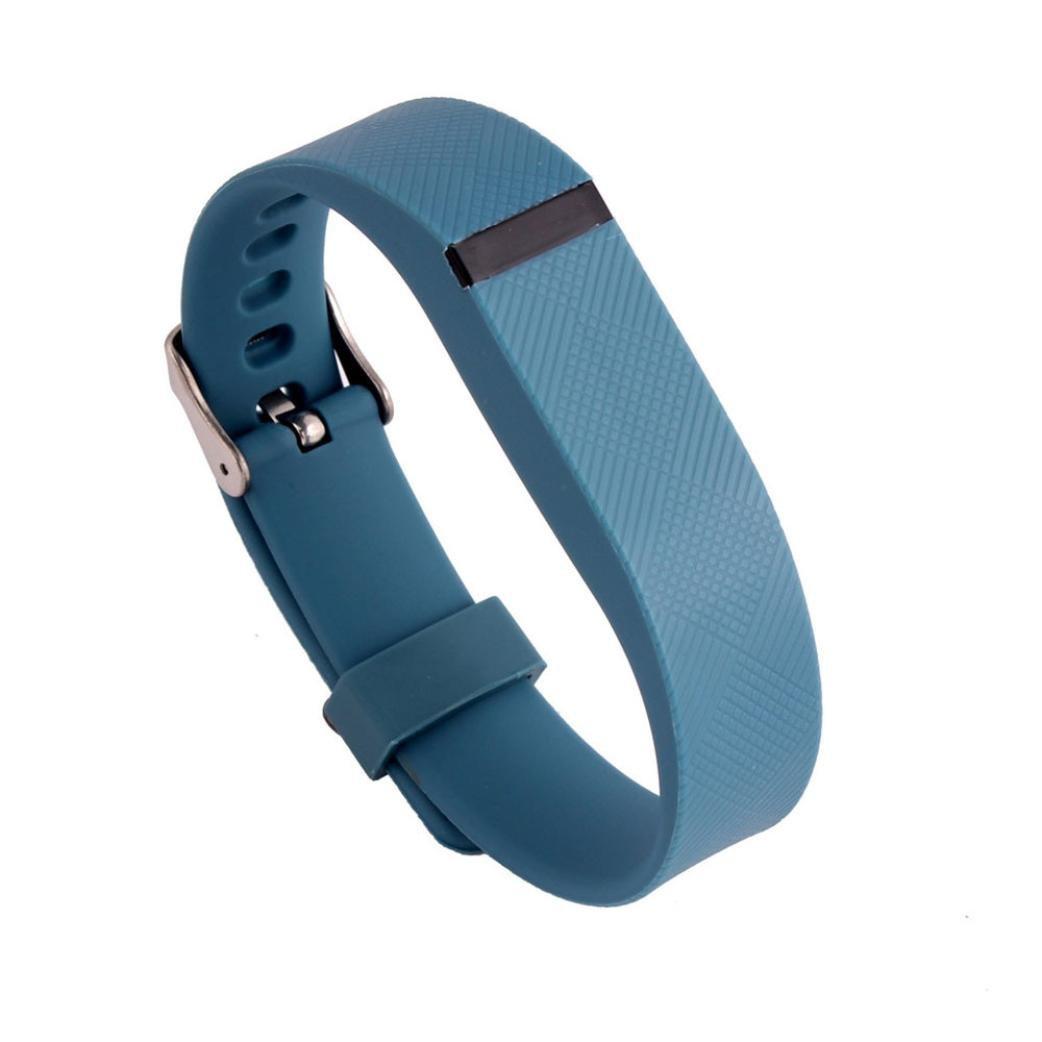 RTYOu ( TM )新しい交換リストバンドwithメタルバックルfor Fitbit Flexブレスレットリストバンド B077M74DTY ブルー