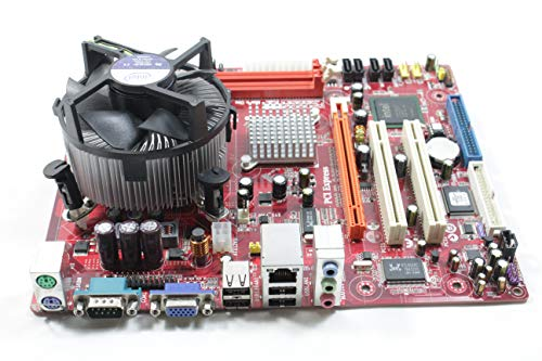 (Genuine Motherboard Micro-ATX 244x200mm DDR2 SDRAM Intel 945GC & ICH7 Core 3 Duo Supported P17G/1333 by EbidDealz)