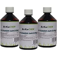 ButKarCHEM 1500ml Artnr.195 Buttersäure Barcode 4260626392095 für mehrere Synthesen. Registriert