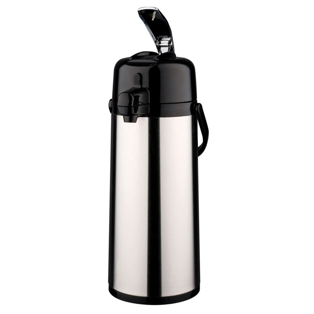 Service Ideas ECAL22S Eco-Air Airpot with Lever, Glass Lined, 2.2 L