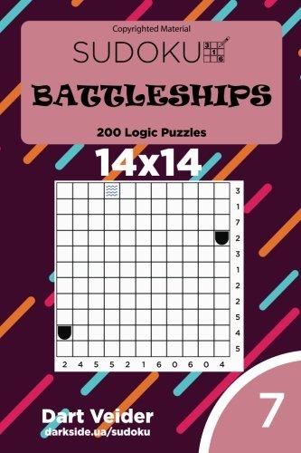 Download Sudoku Battleships - 200 Logic Puzzles 14x14 (Volume 7) PDF