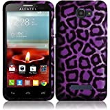 Sensual Leopard Hard Case Cover Premium Protector for Alcatel One Touch Fierce 2 7040T / Pop Icon A564C (by Metro PCS , T-Mobile , Straight Talk) with Free Gift Reliable Accessory Pen