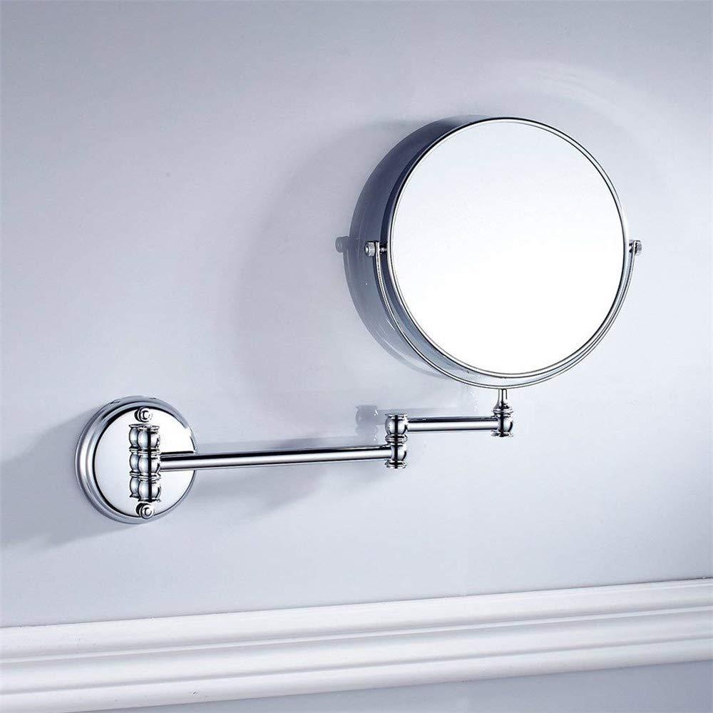 Espejo de Pared para ba/ño o Dormitorio con Acabado Antiguo de lat/ón CASEWIND