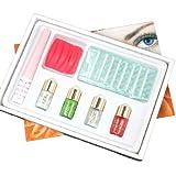 7 in 1 Professioanl Eyelash Eye Lashes Eyelashes Curling Perming Curler Curl Extra Longer Glue Perm Solution Box Full Kit Set B-27 by RY