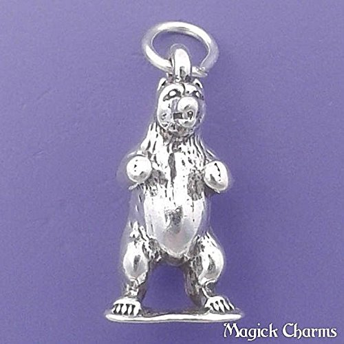 Grizzly Bear Charm - 8