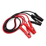 uxcell Red Black 4 Alligator Clamps Battery Booster Cable 1800A 2.5M Length