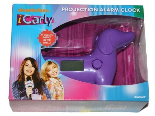iCarly Projection Alarm Clock - Purple Dog for sale  Delivered anywhere in USA